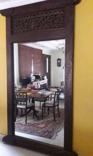 Wall Mirror (9x5ft) - Indonesion Palace Door