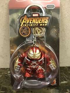 Hot Toys 復仇者聯盟 Avengers Infinity War Iron Man Hulkbuster Cosbaby Key Chain Marvel 鎖匙扣 激罕小貨