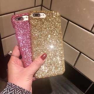 Shining Shimmering Splendid Glitter Case (GOLD) ✨