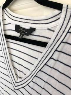 Max's striped knit tops