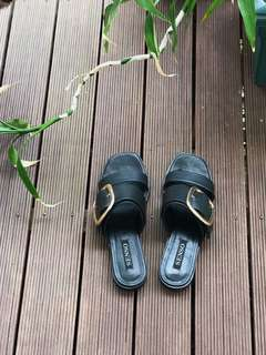 Senso Harry slide size 38 in black