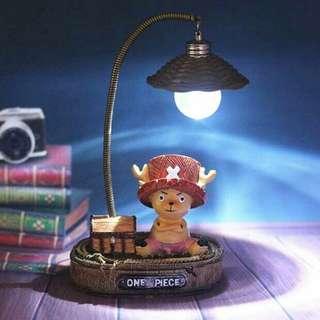 🚚 海賊王喬巴LED小夜燈加贈鈕扣電池2組