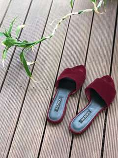 Senso Zulu slide size 38 in Burgundy