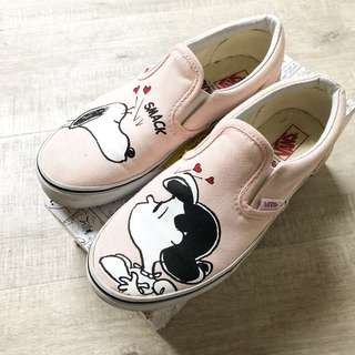Vans x Peanuts up on pink snoopy sneakers soldout ladies 5.5 36 5 35