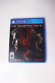 Metal Gear Solid 5 MGS V PS4