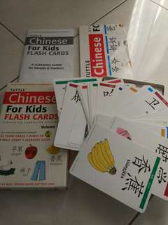 Chinese flash card for kids