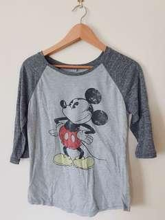 Vintage Mickey raglan top