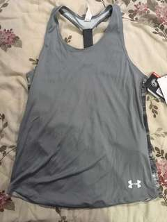 Gray Workout Top