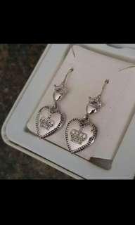 Juicy Couture - Heart Drop Earrings
