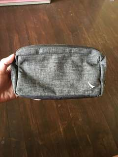 Gray pouch