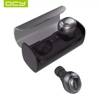QCY Q29 Pro Bluetooth Headphones Mini TWS V4.2 Wireless Earphones Noise Cancelling Earbuds with Microphone & Charging Case
