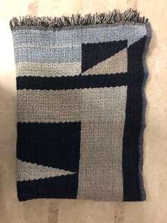 Wilfred blue tone scarf