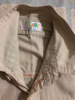 brown shirt jkids #20under