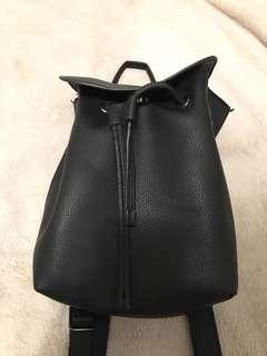 Mini topshop leather backpack