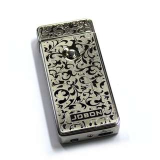 Jobon ZB-308 Electronic USB Rechargeable Induction Lighter (Silver) L109S