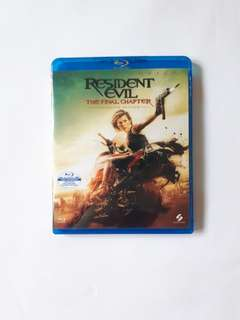 Resident Evil The final Chapter (Blue Ray)