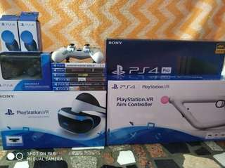 PS4 pro with VR bundle