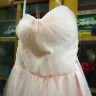 粉紅色裙/姊妹裙/謝師宴裙