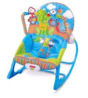 baby rocker and push walker