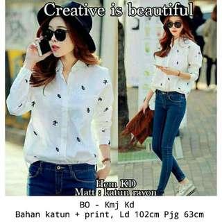White blouse female