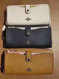 Coach 2 in 1 wallet 🌹