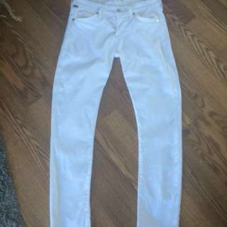 Citizens of Humanity Arielle white skinny jeans size 26