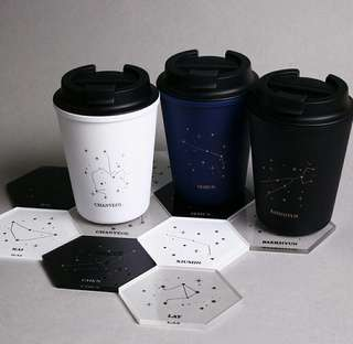 EXO ZODIAC SIGN COASTER
