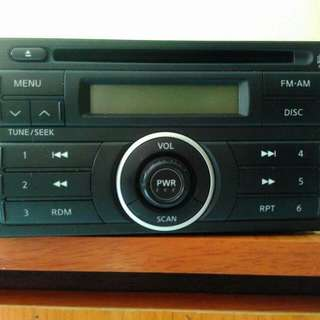 Latio/livina stock cd player