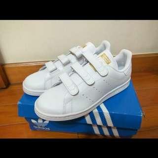 Adidas stan smith 白金魔鬼氈 us8.5