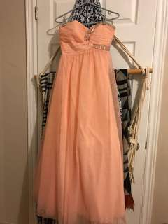 Prom dress.. David's bridal originally bought for 600$ selling for 200.