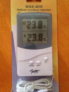 室內戶外溫度計