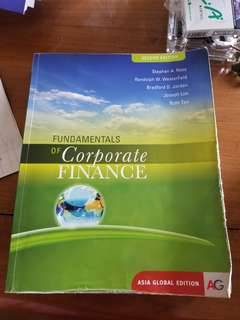 buku fundamental of corporate finance (asli) second edition