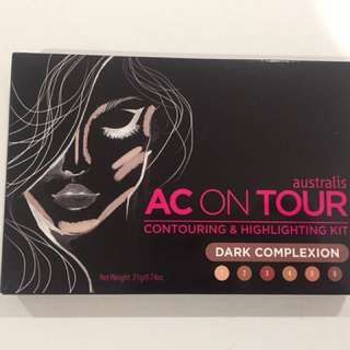 Australis AC On Tour Kit in Dark brand new