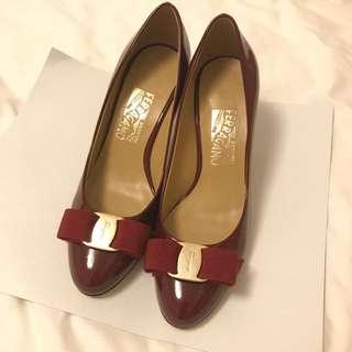 Ferragamo Red Heels *NOT REAL*