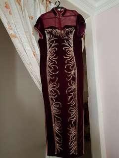Cheongsam (Wear once only in ballroom)