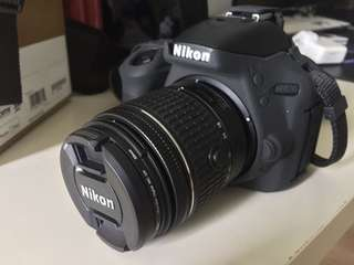 Nikon D5600 with 18-55mm Kit Lense & Accessories