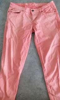 Levis pink jeans