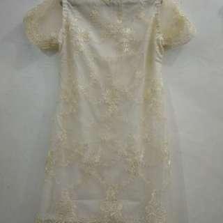 Dres kondangan white