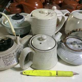 Assorted Japanese Tea Pots