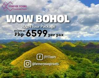 Wow Bohol Tour Package