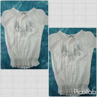 Maternity blouse(white)