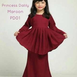 Raya 2018 Peplum for kids