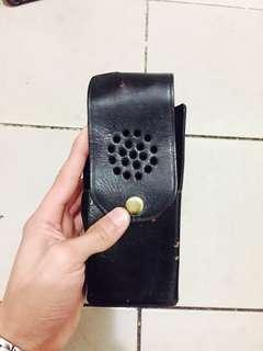 🚚 警用皮製 無線電套 無線電