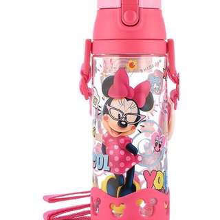 Labour Day promotion 600ML Disney Minnie Water Bottle FREE Water protector cover with 2 purchased