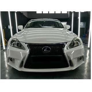 Lexus IS250 (Diamond Coating + Full Paint Restore + Interior Steaming)