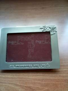 JS Pewter photo frame