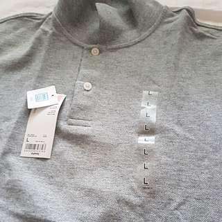 Brandnew pique polo shirt