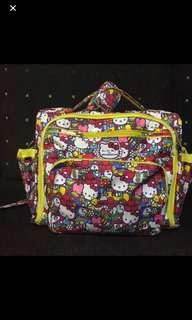 JJB Hello Kitty Tick Tock Diaper bag