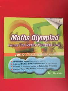 Maths Olympiad Junior 1 (Pri 1 & 2)