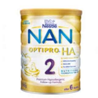 Brand New Nestle Nan HA 2 800G